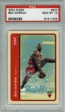 2004/05 Fleer Tradition #223 Ben Gordon RC PSA 10 Gem Mint