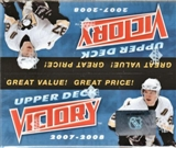 2007/08 Upper Deck Victory Hockey Box