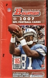2007 Bowman Football Hobby Box
