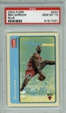 2004/05 Fleer Tradition Blue #223 Ben Gordon RC PSA 10 Gem Mint