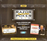 2007 Razor Poker Signature Series Hobby Box