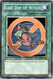 Yu-Gi-Oh Duelist League Single Last Day of Witch Super Rare