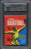 1971/72 Topps Basketball Wax Pack GAI 9 (Mint)