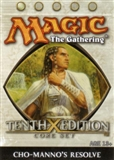 Magic the Gathering 10th Edition Cho-Manno's Resolve Theme Deck