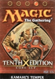 Magic the Gathering 10th Edition Kamahl's Temper Theme Deck