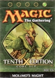 Magic the Gathering 10th Edition Molimo's Might Theme Deck