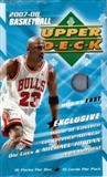 2007/08 Upper Deck Basketball East Hobby Box