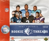 2007 Upper Deck SP Rookie Threads Football Hobby Box