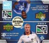 2007 Upper Deck MLS Major League Soccer Box