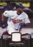 2006 Upper Deck Ovation Apparel #HU Torii Hunter Jersey