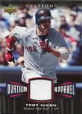 2006 Upper Deck Ovation Apparel #TN Trot Nixon Jersey