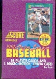 1991 Score Series 2 Baseball Wax Box