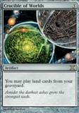 Magic the Gathering 10th Edition Single Crucible of Worlds Foil