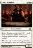 Magic the Gathering 10th Edition Single Field Marshal - SLIGHT PLAY (SP)