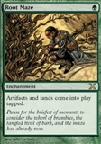 Magic the Gathering 10th Edition Single Root Maze FOIL