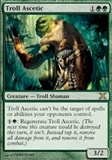 Magic the Gathering 10th Edition Single Troll Ascetic - SLIGHT PLAY (SP)