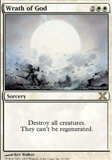 Magic the Gathering 10th Edition Single Wrath of God - SLIGHT PLAY (SP)
