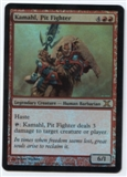 Magic the Gathering 15th Anniversary Promo Single Kamahl, Pit Fighter Foil