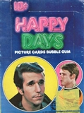 Happy Days New Series Wax Box (1976 O-Pee-Chee)