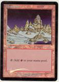 Magic the Gathering Promotional Single Mountain Foil (Arena IA) - SLIGHT PLAY (SP)
