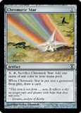 Magic the Gathering Time Spiral Single Chromatic Star Foil