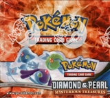 Pokemon Diamond & Pearl Mysterious Treasures Booster Box