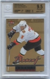 2005/06 Fleer Ultra Gold Medallion #261 Dion Phaneuf Rookie Card BGS 9.5 Gem Mint