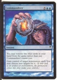Magic the Gathering Coldsnap Single Commandeer FOIL