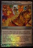 Magic the Gathering Fifth Dawn Single Engineered Explosives Foil - NEAR MINT (NM)