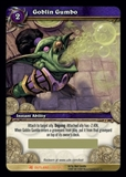 WoW Fires of Outland Single Goblin Gumbo Unscratched Loot Card