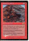 Magic the Gathering Urza's Legacy Single Avalanche Riders Foil - SLIGHT PLAY (SP)