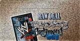 Comic Images WWE Raw Deal Revolution Series 3 Wrestling Starter Box