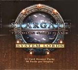 TCG StarGate System Lords Booster Box