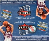 2007/08 Fleer Ultra Basketball 24-Pack Box