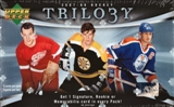 2007/08 Upper Deck Trilogy Hockey Hobby Box