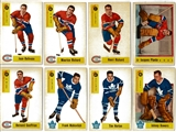 1958/59 Parkhurst Hockey Complete Set (EX-MT+)