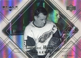 1999/00 Upper Deck Black Diamond Gordie Howe Gallery #GH6