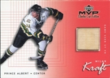 1999/00 Upper Deck SC Edition Game-Used Souvenirs Milan Kraft #GUMK