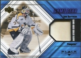 2000/01 Upper Deck Black Diamond Game Gear #CTB Tom Barrasso Glove