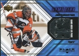 2000/01 Upper Deck Black Diamond Game Gear #LJV John Vanbiesbrouck Pad