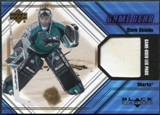 2000/01 Upper Deck Black Diamond Game Gear #LSS Steve Shields Pad