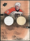 2000/01 Upper Deck SPx Winning Materials #JL John LeClair Jersey Stick
