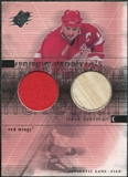2000/01 Upper Deck SPx Winning Materials #SY Steve Yzerman Jersey Stick