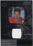 2000/01 Upper Deck Ice Game Jerseys #JCBS Brendan Shanahan