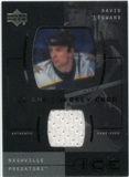 2000/01 Upper Deck Ice Game Jerseys #JCDL David Legwand