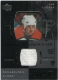 2000/01 Upper Deck Ice Game Jerseys #JCJL John LeClair