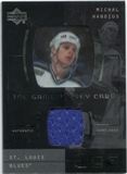 2000/01 Upper Deck Ice Game Jerseys #JCMH Michal Handzus