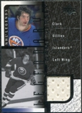 2000/01 Upper Deck Legends Legendary Game Jerseys #JCG Clark Gillies
