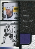 2000/01 Upper Deck Legends Legendary Game Jerseys #JDG Doug Gilmour