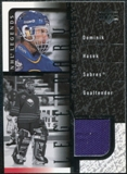 2000/01 Upper Deck Legends Legendary Game Jerseys #JDH Dominik Hasek